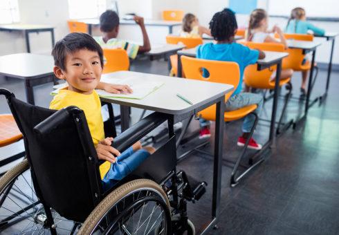 Kläder för rullstolsburna stoppades på modeveckan i Köpenhamn