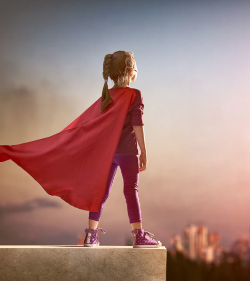 Jag är en superhjälte (åk 1-3)